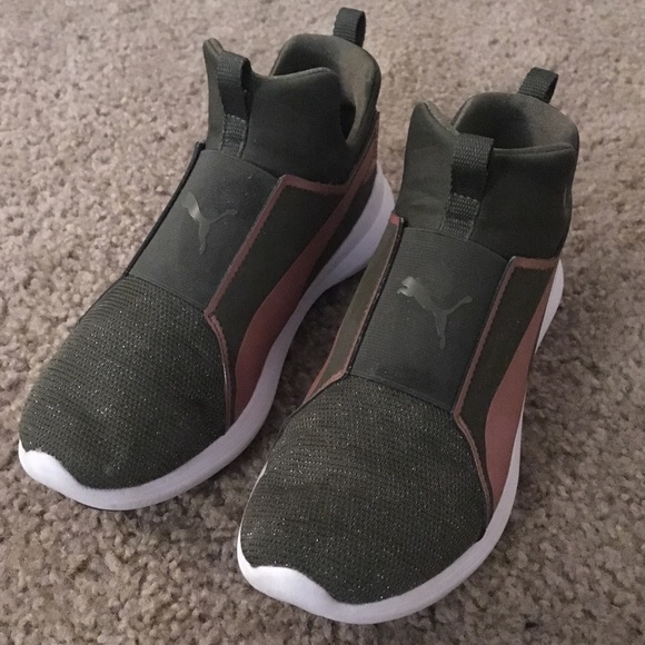 Puma Shoes   Puma Rebel Mid Girls 5 Gs